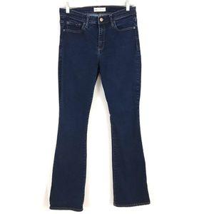 Gap baby boot dark denim jeans stretch 6R 28 Reg